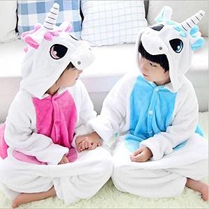 Kenmont Enfants Unisexe combinaison Pyjama Licorne