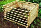 composteur en bois pas cher bac à compost Chamberlain