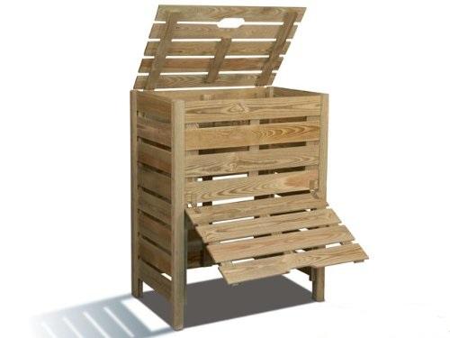 composteur en bois pas cher prix