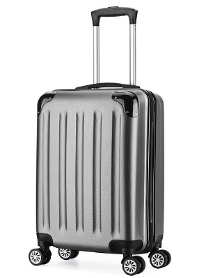 Valise cabine 55cm bagage a main ABS 4