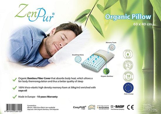 Choisir un oreiller cervical Zenpur