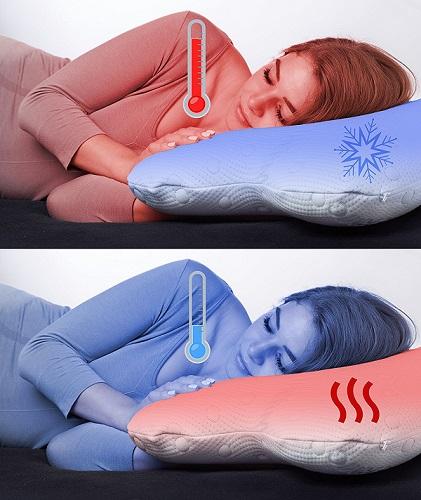 bienfaits oreiller à mémoire de forme