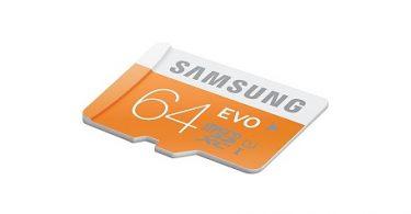 Samsung Carte Mémoire SD XC UHS-I EVO Micro SD Classe 10 64 Go