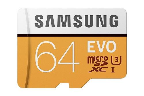 Samsung MB-MP64GAEU Carte mémoire MicroSD Evo 64 Go