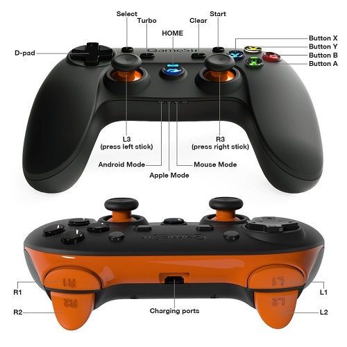 caractéristiques manette de jeu sans fil GameSir G3s pas cher