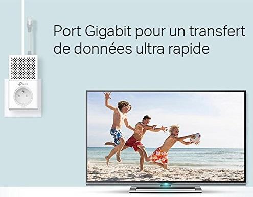 prix prise CPL pas cher Tp-link AV1000