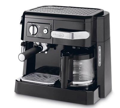 Cafetière Delonghi BCO410.1 Expresso combiné filtre Noir