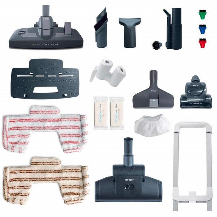 Aspirateur nettoyeur vapeur polti unico MCV 85 accessoires avis